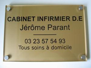 plaques cabinet m dical professionnelles plexiglas de rue plaque medecin notable infirmier. Black Bedroom Furniture Sets. Home Design Ideas
