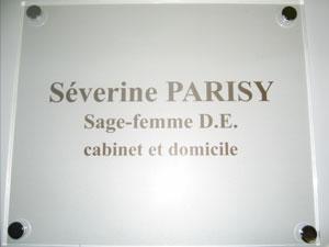 plaques sage femme professionnelles plexiglas de rue plaque pour cabinet m dical medecin notable. Black Bedroom Furniture Sets. Home Design Ideas
