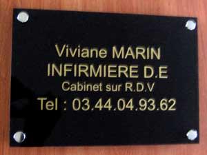 plaques professionnelles plexiglas noire de rue plaque medecin notable infirmier avocat. Black Bedroom Furniture Sets. Home Design Ideas