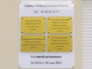 plaque professionnelle de rue plaque medecin notable infirmier avocat notaire profession. Black Bedroom Furniture Sets. Home Design Ideas